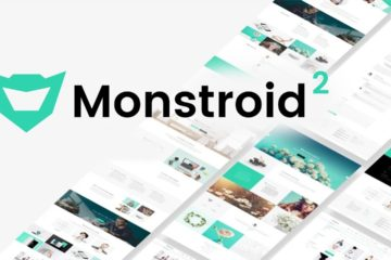 Monstroid2 - многоцелевой шаблон-тема для сайтов на Wordpress