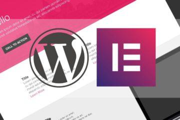 Elementor - плагин конструктора сайтов и страниц для WordPress